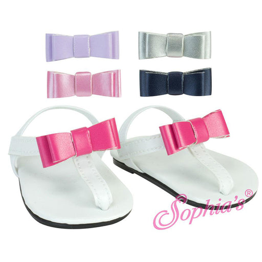 Summer Sandals with Changeable Bow