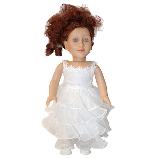 "18"" Doll Celebration Dress"