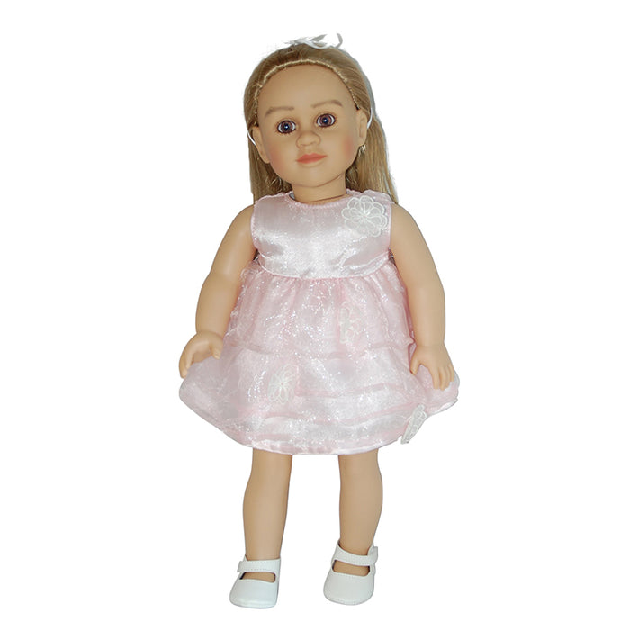 "Irma - 28"" Doll in Light Pink Dress"