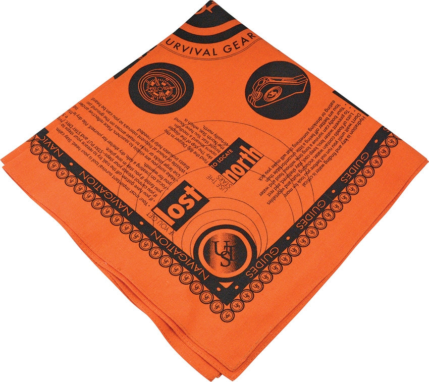 Survival Bandanna Orange