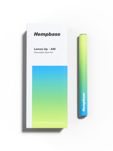 Hempbase CBD Vape - Lemon Up
