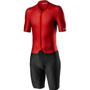 Castelli Sanremo 4.1 Speed Suit Black/Red
