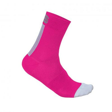 Sportful Pro 12 W Socks Bubble Gum/White