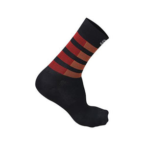 Sportful Mate Socks Black Fire/ Red Orange