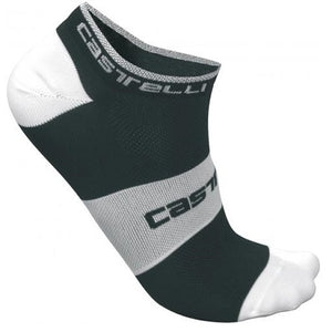 Castelli LowBoy Sock Black/White