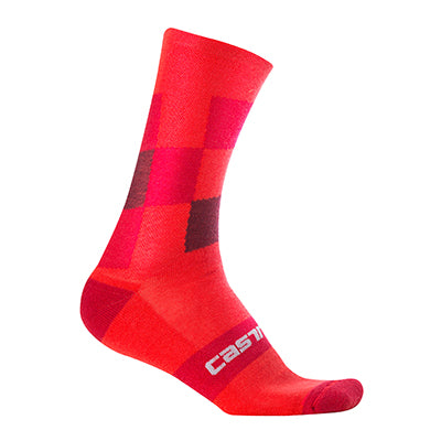 Castelli Diverso 2 18 Sock Red