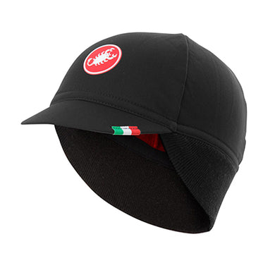 Castelli Difesa Thermal Cap Black