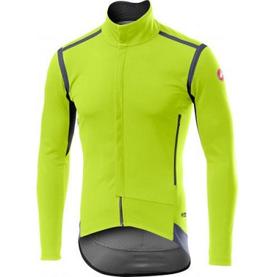 Castelli Perfetto RoS Long Sleeve Yellow Fluo