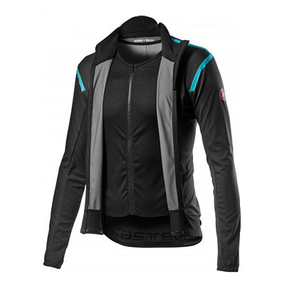 Castelli Alpha RoS Light Jacket Dark Gray