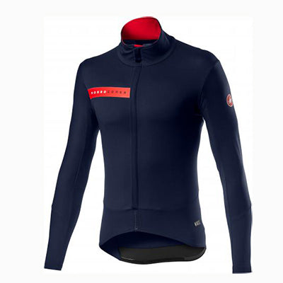 Castelli Beta RoS Jacket Saville Blue