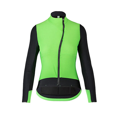 Q36.5 Hybrid Jacket Lady Black/Green