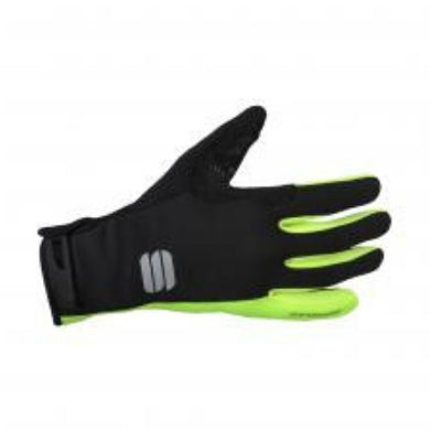 Sportful Ws Essential 2 Glove Black/Yellow Fluo