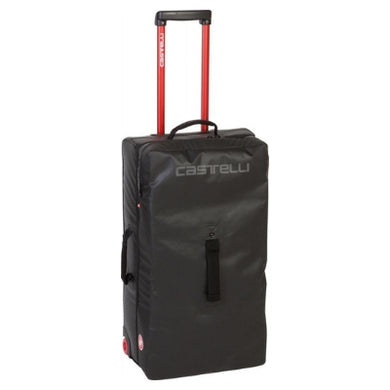 Castelli Rolling Travel Bag 45x54x25cm Small Black