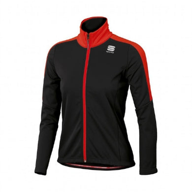 Sportful Team Jacket Junior Black/Red