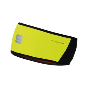 Sportful WS Headband Yellow Fluo/Black