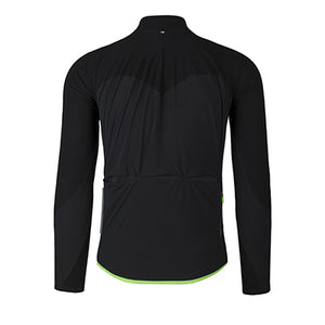Q36.5 Jersey Long Sleeve Hybrid Que Black