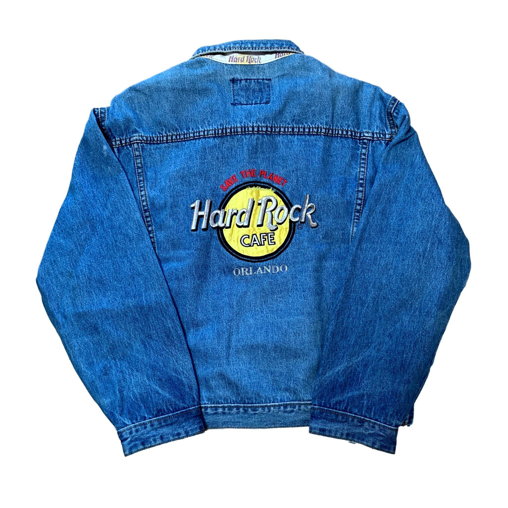 Vintage Hard Rock Cafe Orlando Denim Jacket (S)