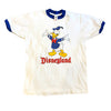 Vintage Donald Duck Disney Ringer T Shirt (M)