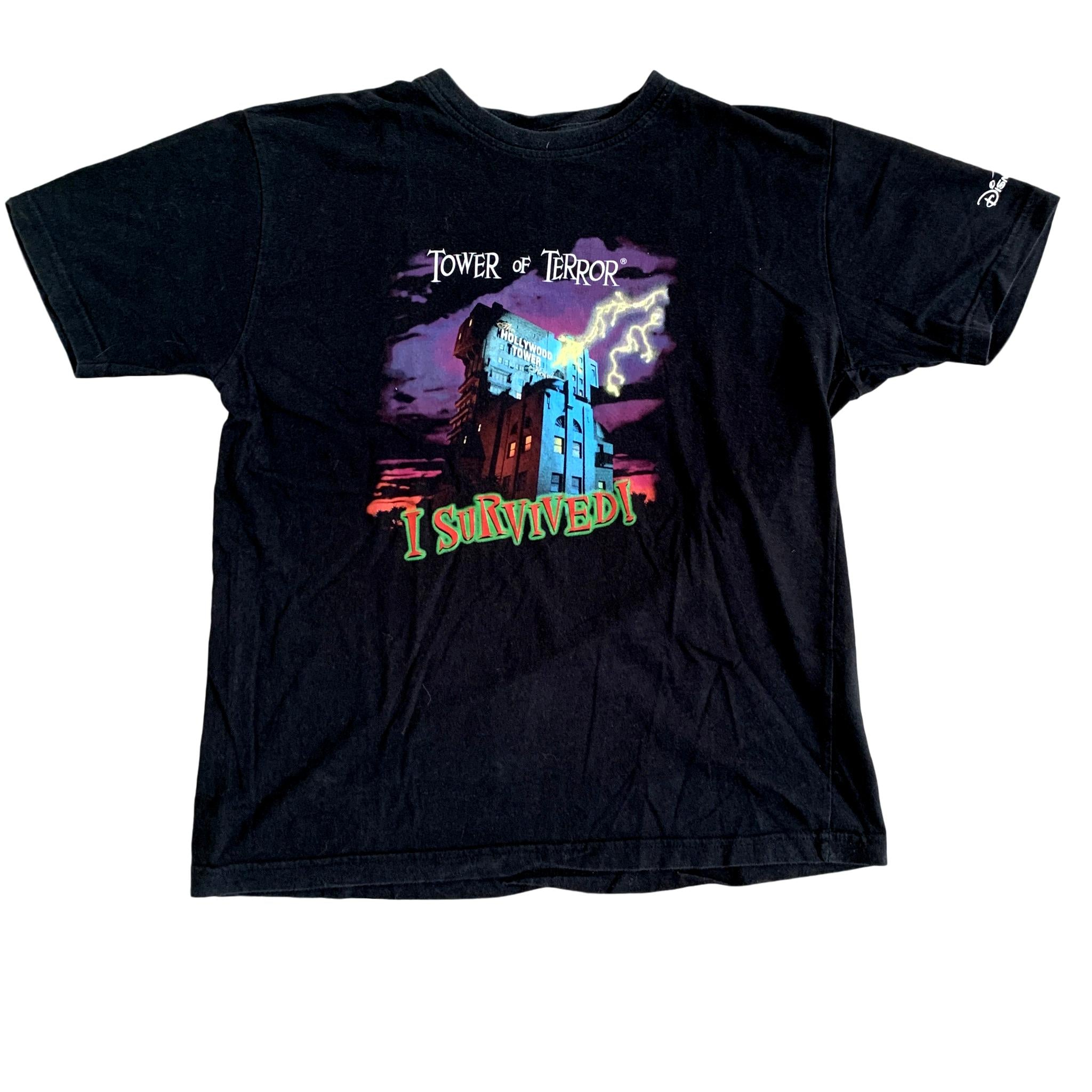 Disneyland Paris Tower of Terror T Shirt (M)