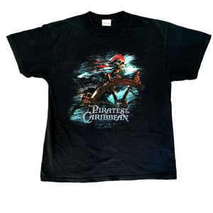 Vintage Disney Pirates of The Caribbean T Shirt (M)