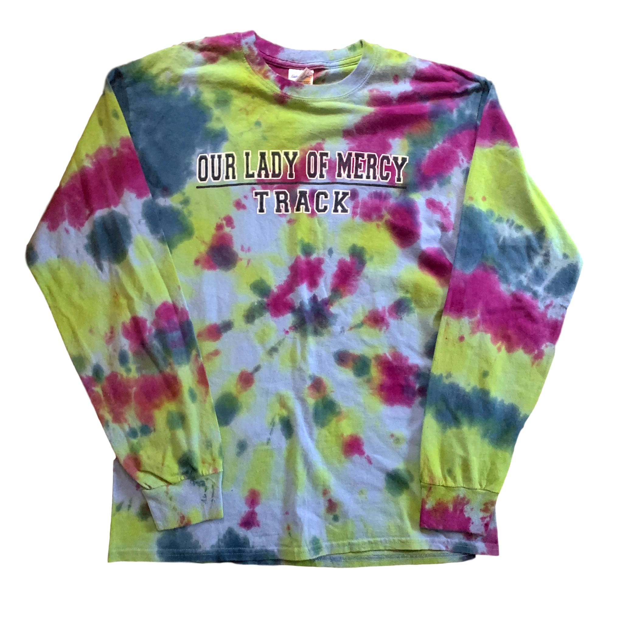 Vintage USA College Tie Dye Long Sleeve