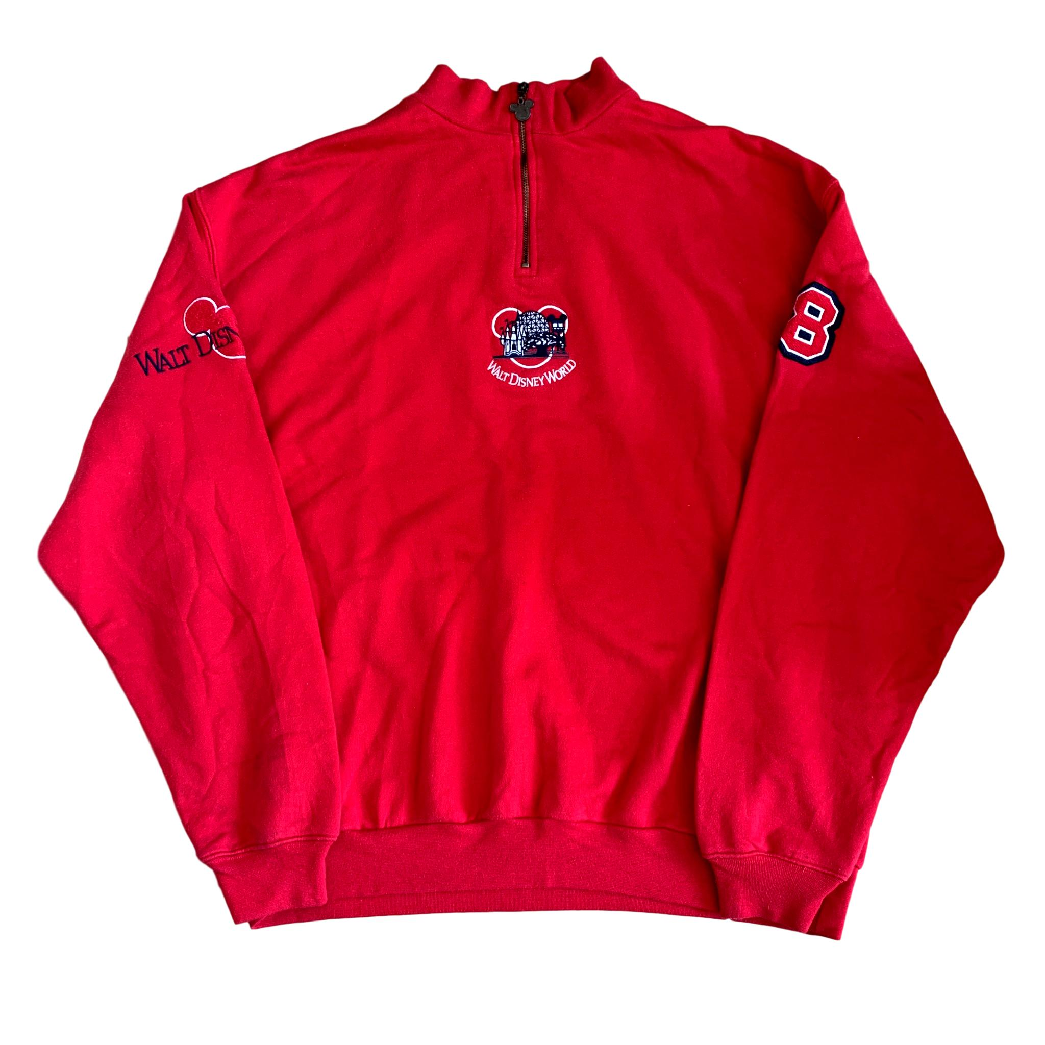 Vintage Walt Disney World Quarter Zip (XL)