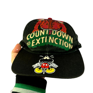 Vintage Disney Countdown To Extinction Cap
