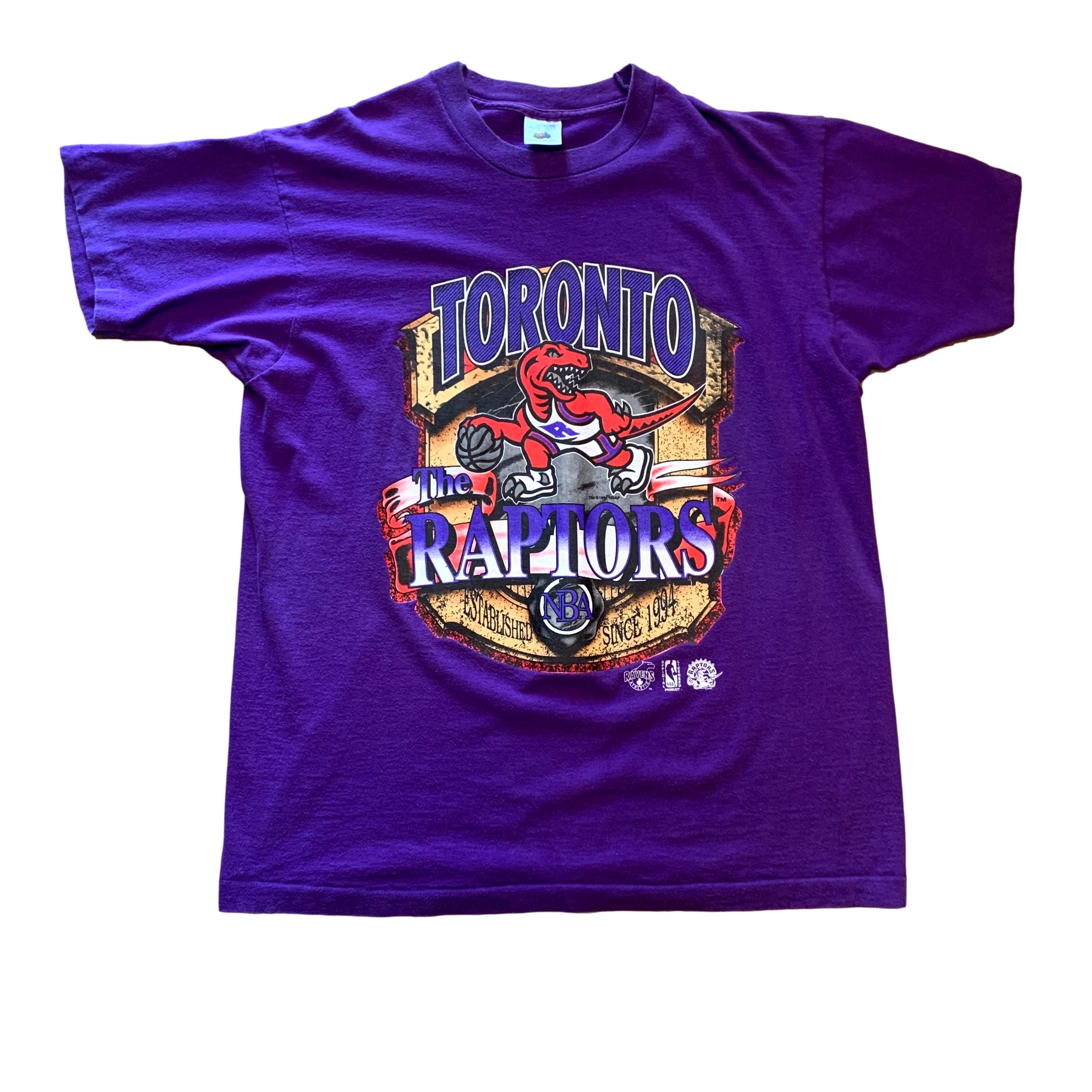 Vintage Toronto Raptors NBA Basketball T Shirt (XL)
