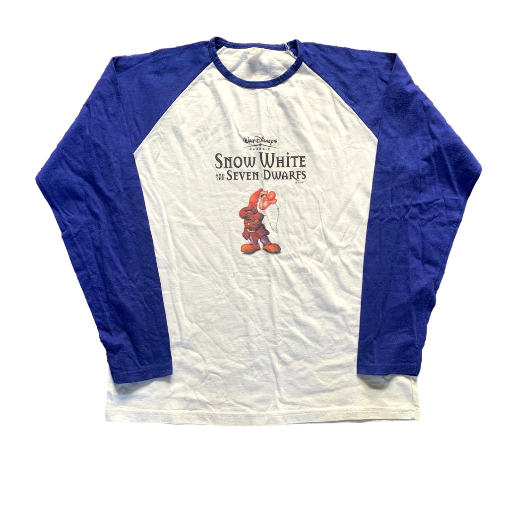 Vintage Snow White Movie Promo Baseball T Shirt (M)