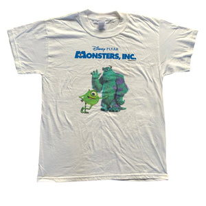 Vintage Disney Pixar Monsters, Inc. Movie Promo T Shirt (L)