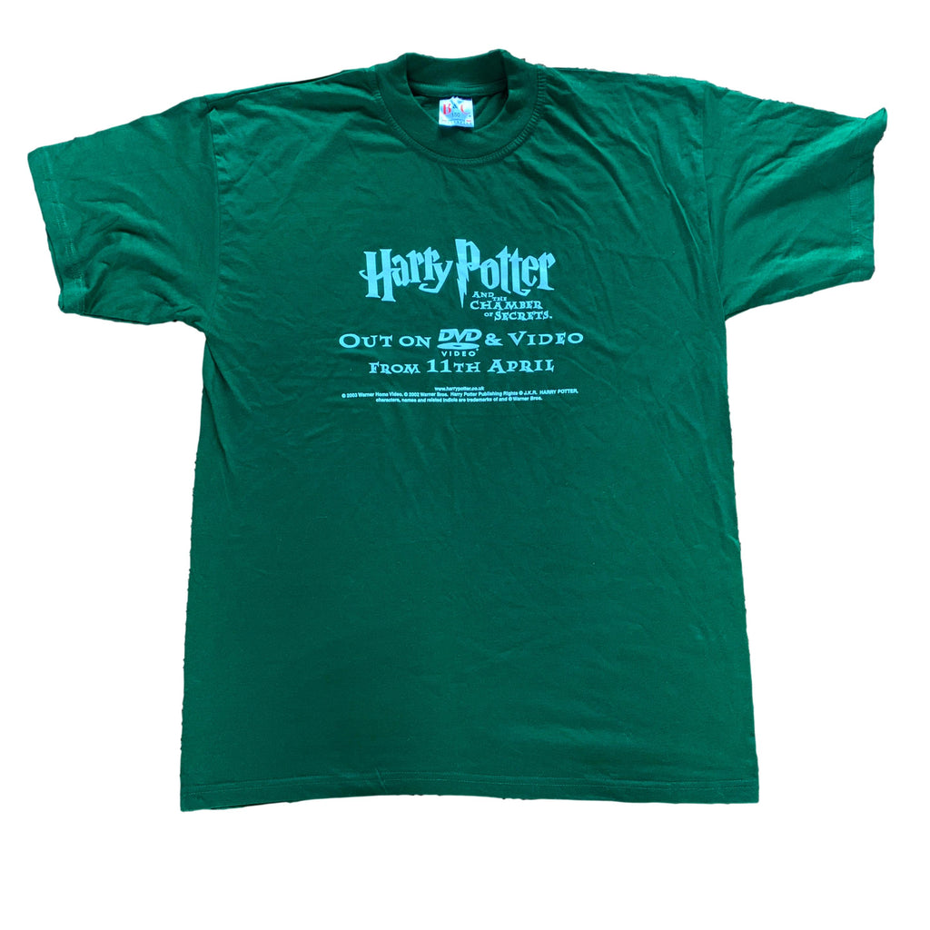 Harry Potter Chamber of Secrets Movie Promo T Shirt (L)