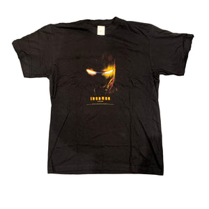 Iron Man Marvel Movie Promo T Shirt (M)