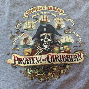 Vintage Pirates of the Caribbean Disney T Shirt (M)