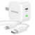 Type-C Charger Set, 20W and Type-C Lightning Cable for iPhone (6ft) - White