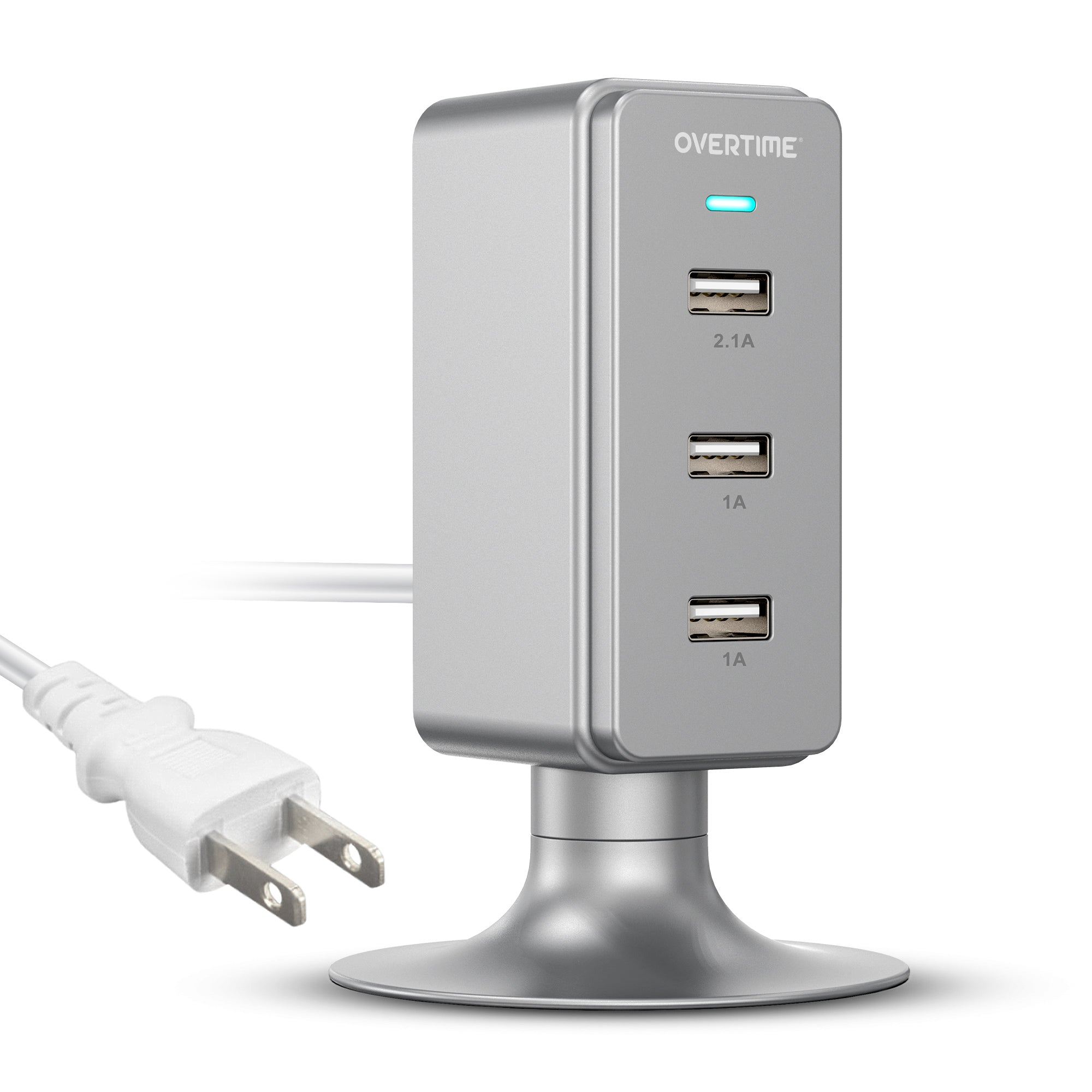 3-Port Desktop Charger