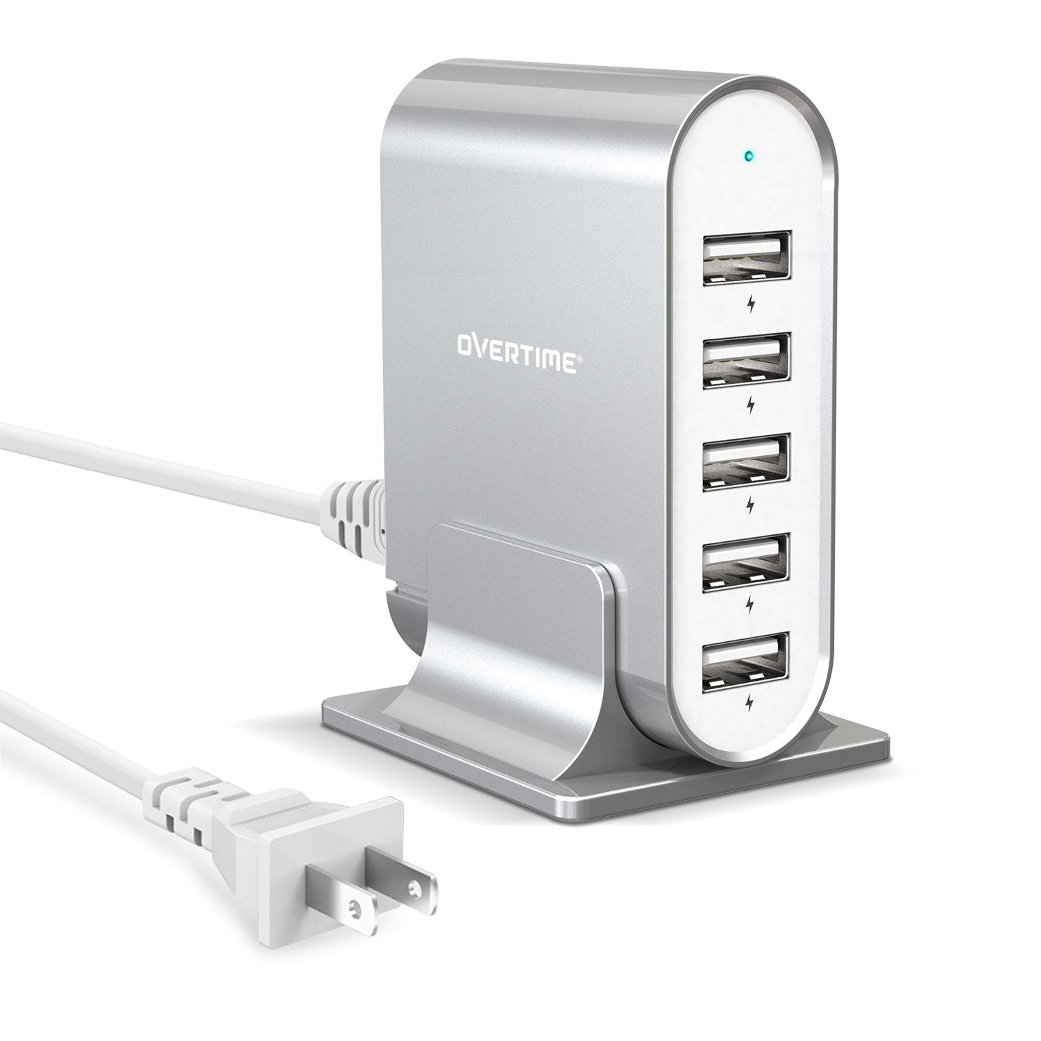 5-Port 35.5W/7.1A Desktop Charger