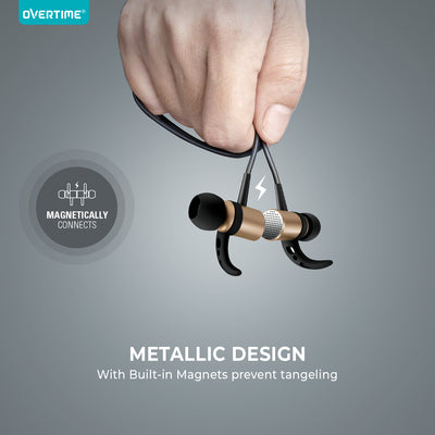 Metal Alloy Wireless Earbuds