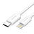 Overtime Apple MFi Certified USB Type C to Lightning Cable for iPhone (6ft, 10ft) - White (2 Pack)