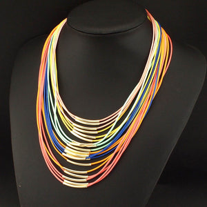 Multi Leather Necklaces