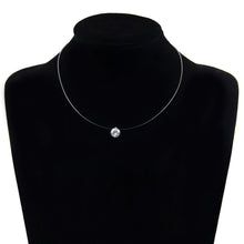 Transparent Necklace Zirconia Pendant