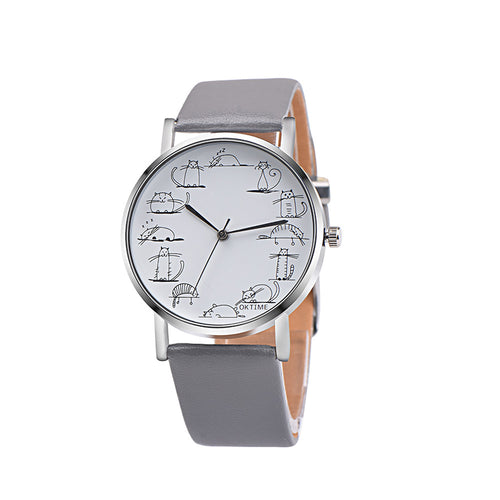 Retro Style Cartoon Watch