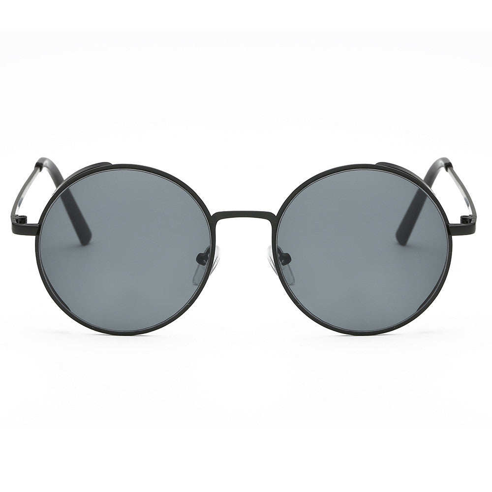 Rounded Metal Sunglasses