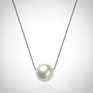 S925 Silver Pearl Necklace