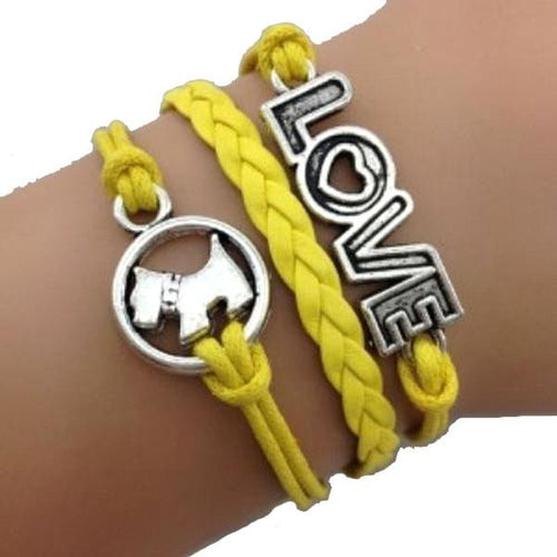 Puppy Love Yellow Bracelet