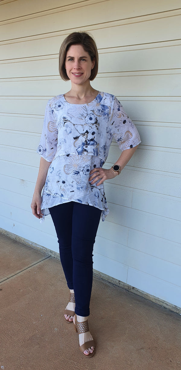 Madelyn Asymmetrical Shirt