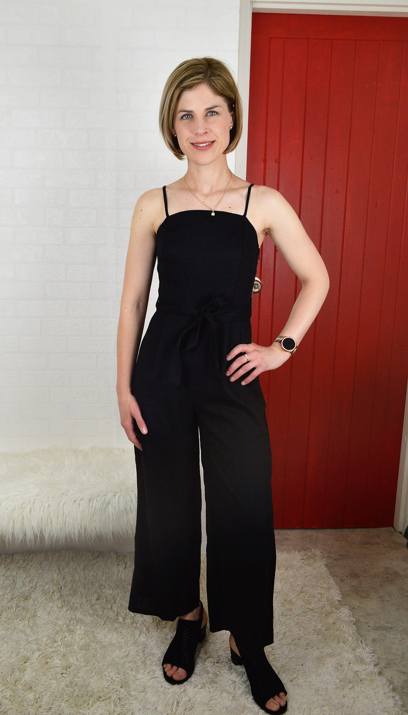 Georgia Jumpsuit - Black
