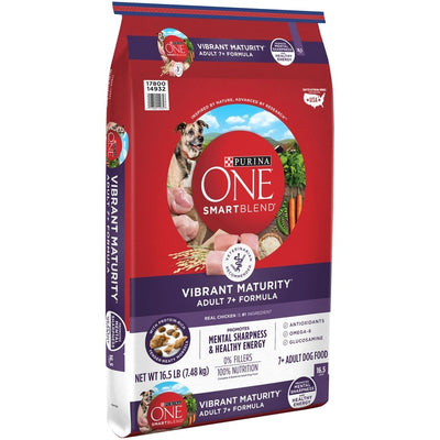 Purina ONE SmartBlend Vibrant Maturity 7+ Senior Formula Dry Dog Food