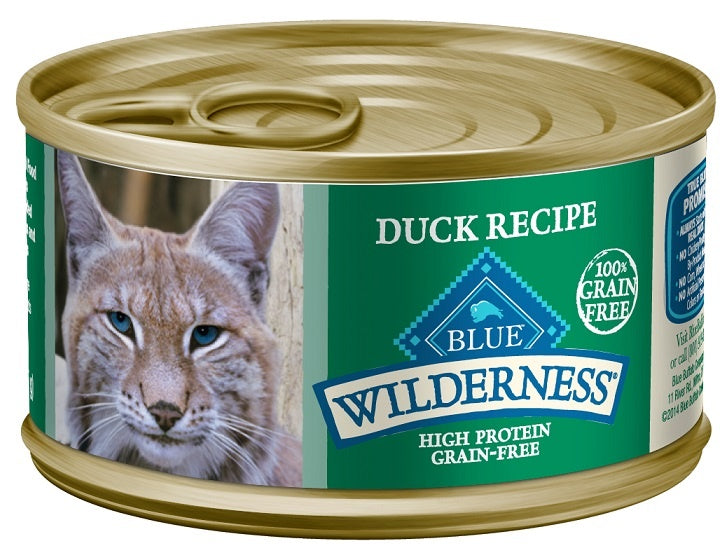 Blue Buffalo Wilderness Duck Recipe Canned Cat Food