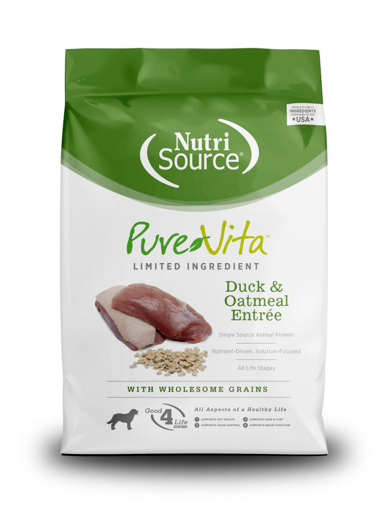 PureVita Duck & Oatmeal Dry Dog Food