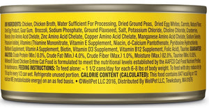 Wellness Grain Free Natural Sliced Chicken Entree Wet Canned Cat Food